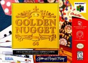 Scan of front side of box of Golden Nugget