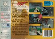 Scan of back side of box of Goldeneye 007