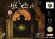 Scan of front side of box of Hexen