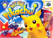 Scan of front side of box of Hey You, Pikachu!