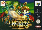 Scan of front side of box of Holy Magic Century