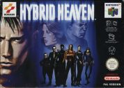 Scan of front side of box of Hybrid Heaven