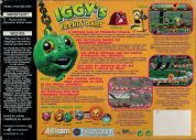Scan of back side of box of Iggy's Reckin' Balls