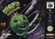 Scan of front side of box of Iggy's Reckin' Balls