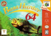 Scan of front side of box of In-Fisherman Bass Hunter 64