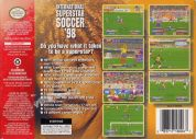 Scan of back side of box of International Superstar Soccer 98
