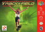 Scan of front side of box of International Track & Field 2000