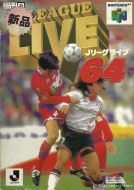 Scan of front side of box of J-League Live 64