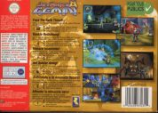 Scan of back side of box of Jet Force Gemini