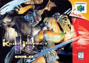 Scan of front side of box of Killer Instinct Gold