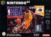 Scan of front side of box of Kobe Bryant in NBA Courtside