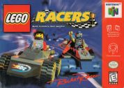 Scan of front side of box of Lego Racers