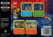 Scan of back side of box of Lego Racers