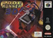 Scan of front side of box of Lode Runner 3D