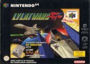 Scan of front side of box of Lylat Wars