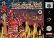 Scan of front side of box of Mace: The Dark Age