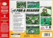 Scan of back side of box of Madden NFL 2002