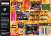 Scan of back side of box of Magical Tetris Challenge