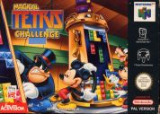 Scan of front side of box of Magical Tetris Challenge