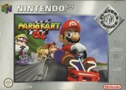 Scan of front side of box of Mario Kart 64 - Players' Choice - Third print (V 1.1 (A))