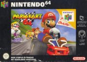 Scan of front side of box of Mario Kart 64