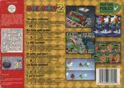 Scan of back side of box of Mario Party 2