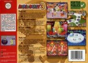 Scan of back side of box of Mario Party 3