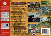 Scan of back side of box of Mario Party