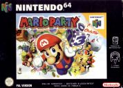 Scan of front side of box of Mario Party