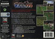 Scan of back side of box of Michael Owen's World League Soccer 2000