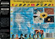 Scan of back side of box of Micro Machines 64 Turbo