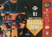 Scan of front side of box of Mike Piazza's Strike Zone