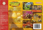 Scan of back side of box of Mischief Makers