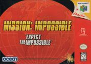Scan of front side of box of Mission: Impossible