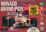 Scan of front side of box of Monaco Grand Prix