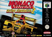 Scan of front side of box of Monaco Grand Prix Racing Simulation 2