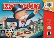 Scan of front side of box of Monopoly