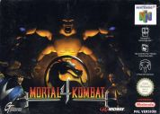 Scan of front side of box of Mortal Kombat 4