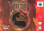 Scan of front side of box of Mortal Kombat Trilogy