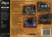 Scan of back side of box of Mortal Kombat Trilogy