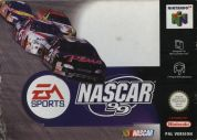 Scan of front side of box of NASCAR '99