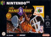 Scan of front side of box of NBA Hangtime