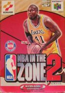 Scan of front side of box of NBA In The Zone 2