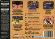 Scan of back side of box of NBA Jam '99