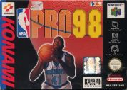 Scan of front side of box of NBA Pro 98