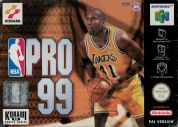 Scan of front side of box of NBA Pro 99