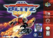 Scan of front side of box of NFL Blitz 2000