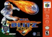 Scan of front side of box of NFL Blitz 2001