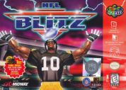 Scan of front side of box of NFL Blitz