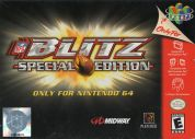 Scan of front side of box of NFL Blitz Special Edition